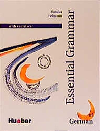 9783190215751: Grundstufen-Grammatik Deutsch als Fremdsprache. Englische Version: Essential Grammar of German with Exercises