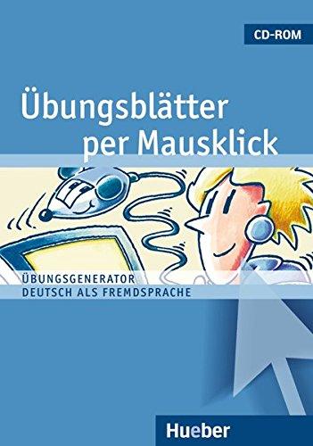 9783190216307: ÜBUNGSBLÄTTER PER MAUSKLICK.CD-ROM