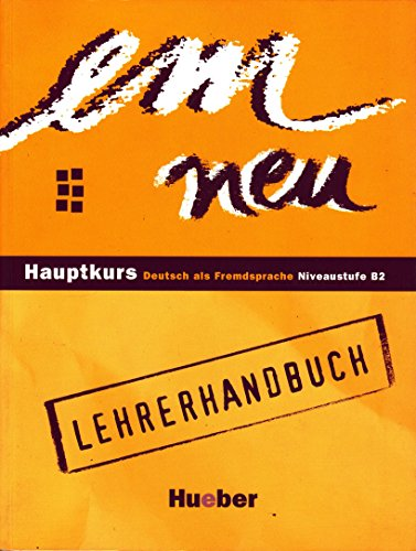 9783190216956: Em Neu Hauptkurs Lehrerhandbuch