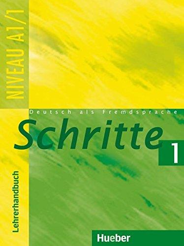 9783190217045: Schritte 1. Lehrerhandbuch: Deutsch als Fremdsprache. Niveau A 1/1