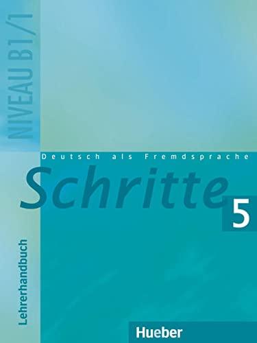9783190218080: Schritte: Lehrerhandbuch 5 (German Edition)