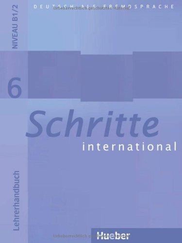 9783190218561: Schritte International: Lehrerhandbuch 6 (German Edition)