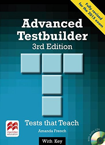 9783190228836: Advanced Testbuilder. Student's Book with 2 Audio-CDs (with Key: Tests that Teach