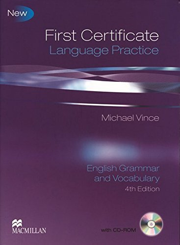 9783190228850: First Certificate Language Practice New. Student's Book without key
