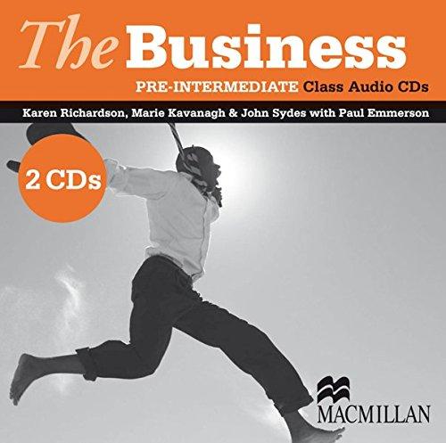 The Business Pre-Intermediate. 2 Audio-CD's: Richardson, Karen; Kavanagh,