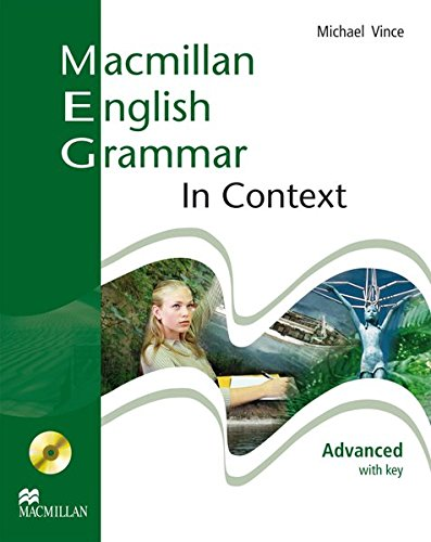 9783190229727: Macmillan English Grammar in Context. Advanced, Student's Book with key and CD-ROM: Student's Book