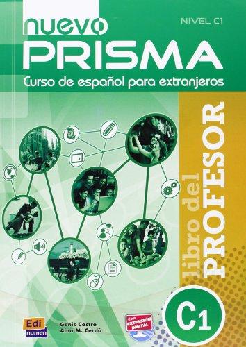 9783190243075: Nuevo PRISMA C1. Libro del profesor - Lehrerhandbuch mit Audio-CD: Método de español para extranjeros