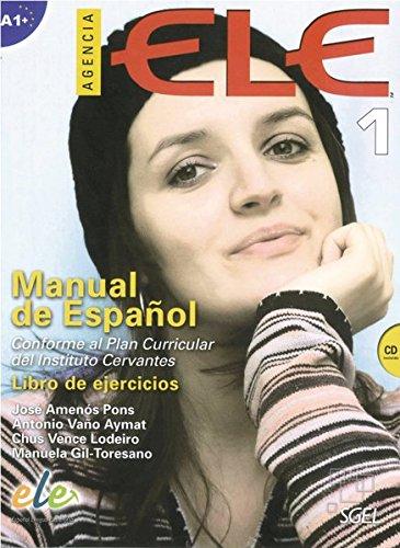 9783190245055: Agencia ELE 01. Arbeitsbuch mit Audio-CD
