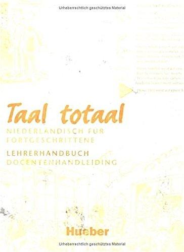 9783190253111: Taal Total. Lehrerhandreichung. Docenthandleiding. (Lernmaterialien)