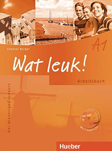 9783190254606: Wat leuk! A1. Arbeitsbuch mit integrierter Audio-CD: Der Niederländischkurs