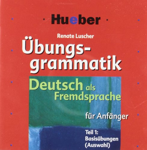 9783190274475: Ubungsgrammatik fur Anfanger: CDs (2)
