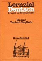 Lernziel Deutsch - Level 1: Glossar 1: Wolfgang Hieber