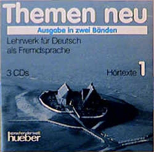 9783190315666: Themen Neu - Ausgabe in Zwei Banden - Level 1: Cds 1 (3): Hortexte