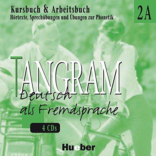 9783190316151: Tangram 2 A. 4 CDs zum Kursbuch und Arbeitsbuch: Deutsch als Fremdsprache. Hörtexte, Sprechübungen und Übungen zur Phonetik. Hörtexte, Sprechübungen ... und Übungen zur Phonetik: Cds 2a (4)