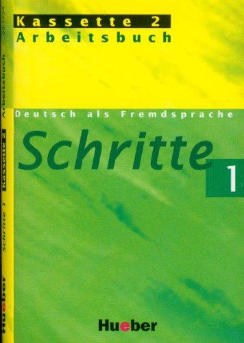 9783190317042: Schritte 1. 2 Cassetten: Deutsch als Fremdsprache. Niveau A 1/1