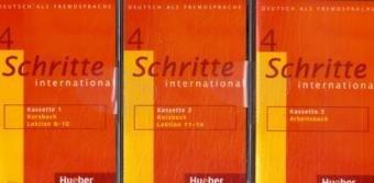 9783190318544: Schritte International: Kassetten Zum Kursbuch Und Arbeitsbuch 4 (3)