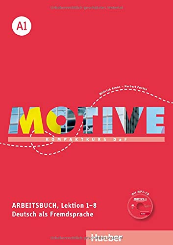 9783190318803: MOTIVE A1 AB+CD-Audio (ejerc.) [Lingua tedesca]: Kompaktkurs DaF.Deutsch als Fremdsprache
