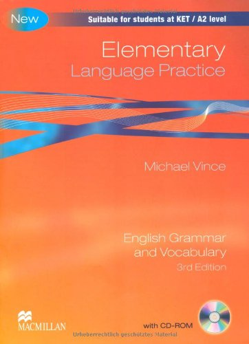 9783190326945: Elementary Language Practice. Student's Book with CD-ROM (without key)