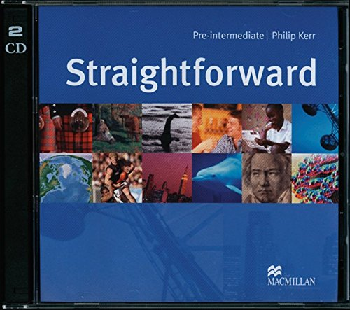 9783190329526: Straightforward Pre-intermediate. 2 Class CDs: Pre-intermediate / 2 Audio-CDs