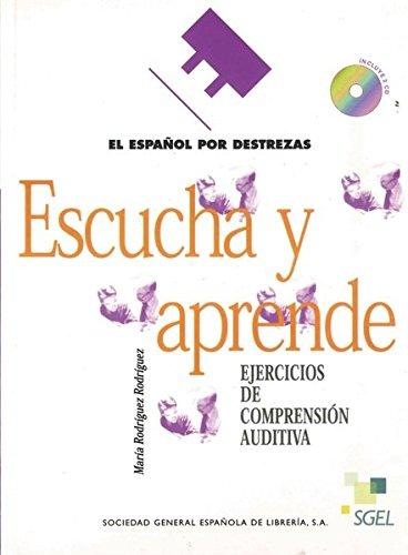 9783190345069: Español por destrezas: Escucha y aprende. Arbeitsbuch mit 2 Audio-CDs