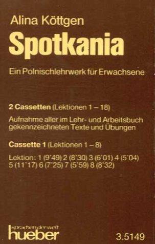 9783190351497: Spotkania : Texte und Ãœbungen, 2 Cassetten