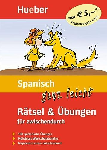 9783190379088: Spanisch ganz leicht. Rätsel und Übungen für zwischendurch