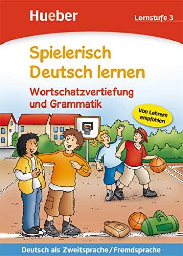 9783190394708: Spielerisch Deutsch lernen. Wortschatzvertiefung und Grammatik. Lernstufe. Per la Scuola elementare: SPIELER.DT.LERNEN 3 WS/GR