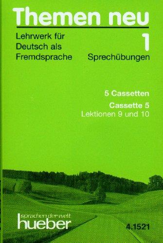 9783190415212: Themen neu: Kassetten 1 (5): Sprechubungen (German Edition)