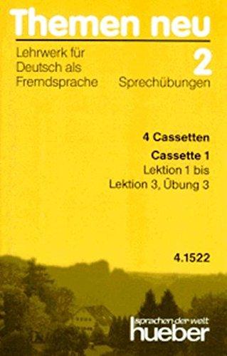 9783190415229: Themen Neu - Level 2: Cassetten 2 (4): Sprechubungen (German Edition)