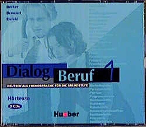9783190415908: Dialog Beruf: CDs 1 (3) - Hortexte (German Edition)