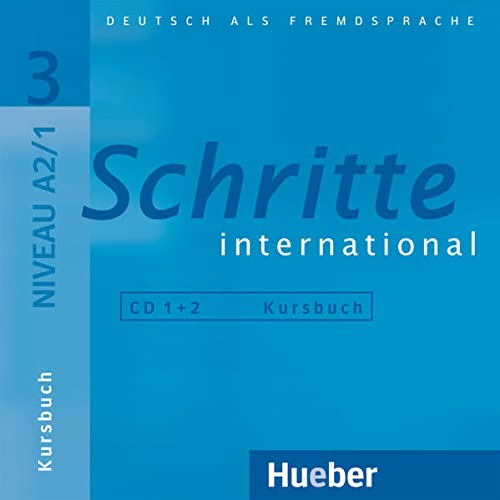 9783190418534: SCHRITTE INTERNATIONAL.3.CD x 2 z.KB.