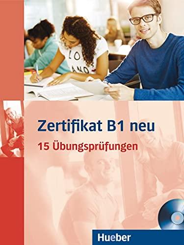 9783190418688: Zertifikat B1 neu. Prüfungsvorbereitung. Übungsbuch + MP3-CD