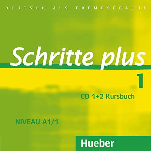 9783190419111: Schritte Plus: CDs zum Kursbuch 1 (2)