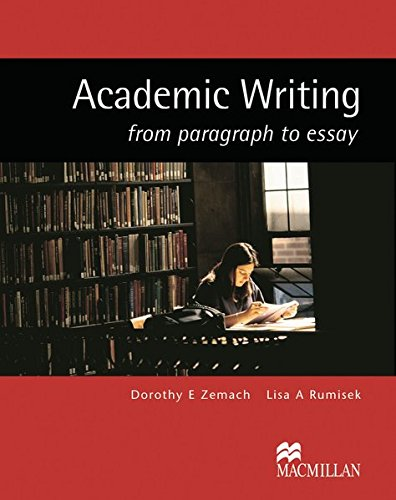 academic writing from paragraph to essay chomikuj Online essay writing competition on good governance: from voa learning english, welcome to the education report in special english millions of students have been taught a formula that has nothing to do with chemistry or mathematics the formula is for writing a five-paragraph essay first, write an introductory paragraph to state.