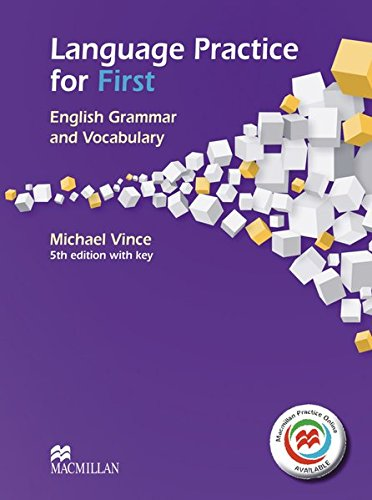9783190426737: Language Practice for First/Student's Book with MPO and Key: English Grammar and Vocabulary.5th edition (2014)
