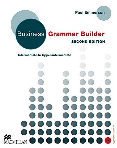 9783190427222: Business Grammar Builder New. Student's Book: Intermediate to Upper intermediate