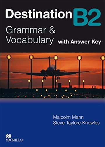 9783190429554: Destination B2. Grammar; Vocabulary / Student's Book with Key
