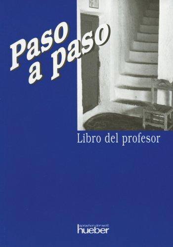 9783190440399: Paso a paso, Libro del profesor