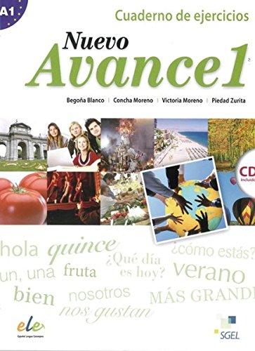 9783190445042: Nuevo Avance 01. Arbeitsbuch mit Audio-CD: Curso de Español
