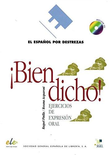 9783190445066: Español por destrezas ¡Bien dicho! Arbeitsbuch mit Audio-CD