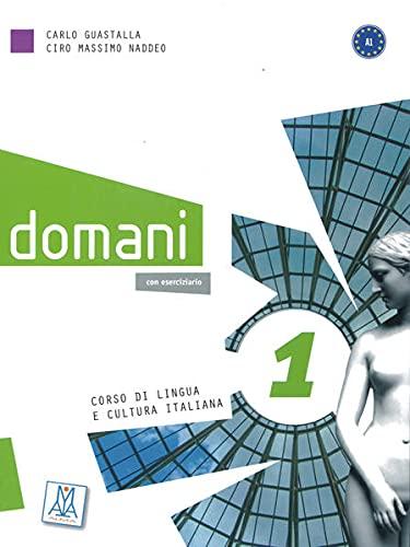 9783190454655: domani 1. Kurs- und Arbeitsbuch mit DVD-ROM (deluxe)