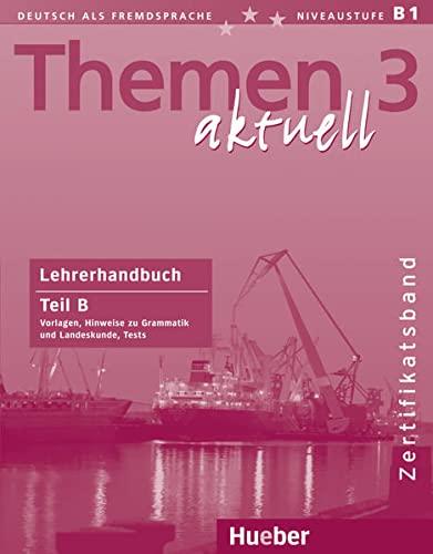 9783190516926: THEMEN AKTUELL.3.Lehrerh.B (l.prof.B)