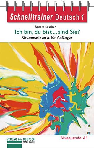 9783190517411: SCHNELLTRAINER DT Ich bin...sind..