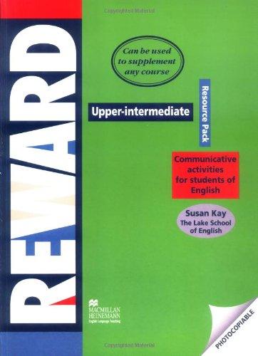9783190525041: Reward Upper-Intermediate. Resource Pack