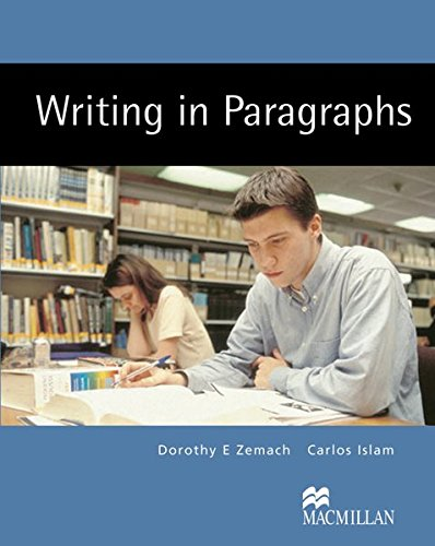9783190525768: Writing in Paragraphs