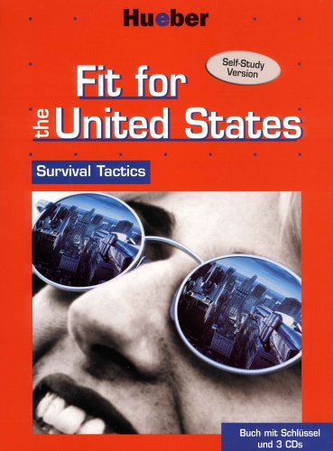9783190526772: Fit for the United States, 3 Audio-CDs und Lehrbuch, m. Schl�ssel