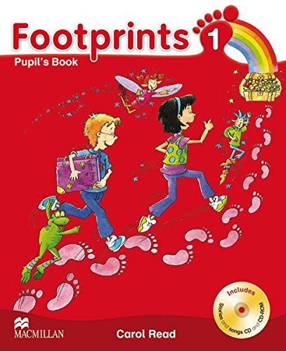 9783190529209: Footprints 1 Pupil's Book Package: Pupil's Book with Audio-CD + CD-ROM and Portfolio Booklet