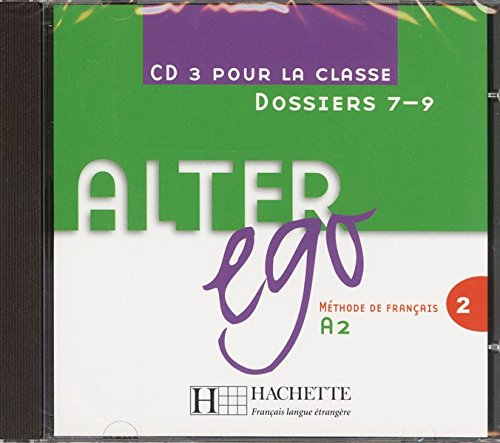 9783190533282: Alter ego 2: Méthode de français / Audio-CD 3