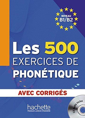 9783190533831: Les 500 exercices de phonétique. Livre de l'élève + CD Audio + corrigés