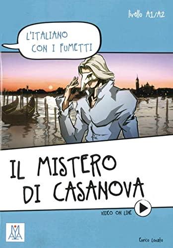 9783190553518: L'italiano con i fumetti: I gioielli di Casanova